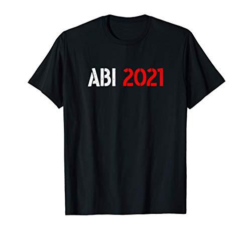 Abi 2021 Abitur bestanden Minimalistisches Design T-Shirt T-Shirt